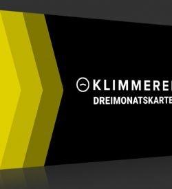 KLIMMEREI Dreimonatskarte